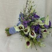 picasso calla lily bride bouquet