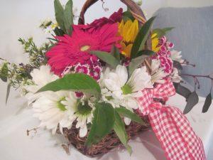 Painted Tulip Wedding Flowers