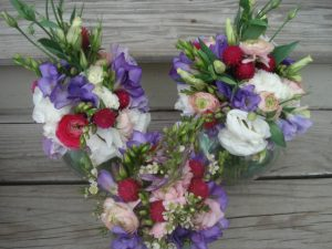 The Bridal Party Bouquets